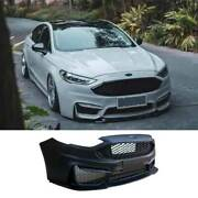 For Ford Mondeo Fusion 2017-20 M Primer Black Front Bumper Bottom Protector 1pcs