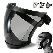 Us Full Face Anti-fog Shield Super Protective Head Cover Transparent Safety Mask