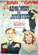 Strike Up The Band / Judy Garland / 1940 / Busby Berkeley / Movie Poster/59