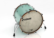 Sq1 2217 Bd Nm 17337 Bass Drum 22 X 17 Without Bracket Blue Sonor 16122237