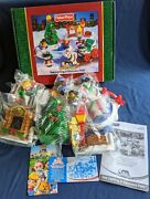 2004 Fisher Price Little People Tree Lighting In Discovery Park New In Box