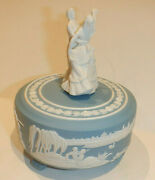 Blue Danube Music Box Music Box With Rotating Dancing Couple 1980 Franklin Mint