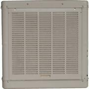 Evaporative Cooler 4900-cfm Ducted Down Draft Galvanized Steel Cool Sand Outdoor
