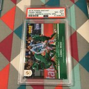 Lionel Messi Green 23/25 Made Argentina 2016 Panini Instant Psa 8.5 Nm-mint +