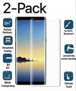 2pack Tempered Glass Screen Protector For Samsung Galaxy S7 S9 S8 Plus Note 8 9