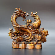 Chinese Antiques Brass Dragon Phoenix Bronze Arts And Crafts Ornament