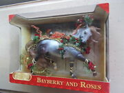 2014 Breyer Holiday Horse Bayberry And Roses Mulberry Esprit Nos