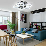 Modern 18w Led Chandeliers Acrylic 5-lights Ceiling Lamp Lighting Fixtures Usa