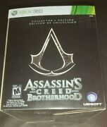 Assassinand039s Creed Brotherhood Collectorand039s Edition Xbox 360 Rare Brand New Sealed