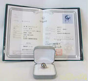 Ring With Jewels Identification Letter 15.2g