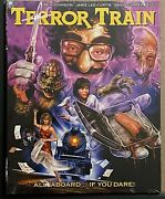 New Terror Train Blu Ray + Slipcover Rare Oop Limited Edition Ronin Flix Exclusi