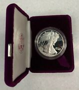 1986 S United States 1 Oz. Proof Silver American Eagle Dollar Coin