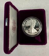 1991 S United States 1 Oz. Proof Silver American Eagle Dollar Coin