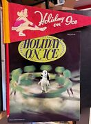 1974 Holiday On Ice Snoopy Program And Small 11 Pennant On A Pencil
