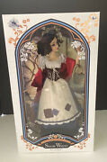 """Nrfb Disney Store Limited Edition Of 6500 Snow White In Rags 17"""" Doll New In Box"""