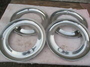 15 Inch Stainless Steel Wheel Rims For The 1950's-1960's
