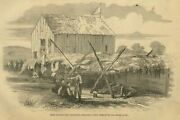 Civil War Rebel Hospital For Sick And Wounded Soldiers Near Sharpsburg Maryland