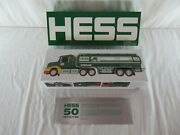 Hess 50th Anniversary Collectible Toy Truck Set 2014 Mib Large And Small Truck