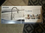 Moen Essie Single-handle Pull-down Sprayer Smart Faucet Voice Control Stainless
