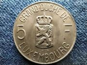 Luxembourg Charlotte 1919-1964 5 Francs Coin 1962