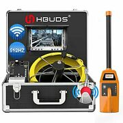 Sewer Camera With Locatorhbuds 100ft Pipeline Inspection Camera With 512hz So...