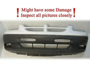Used 1999 2000 Dodge Grand Caravan Front Bumper Cover Bs/se Has Some Damage