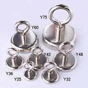 Y20-y75 Round Powerful Sheep Eye Hook Magnet Closed Magnetic Hond Suction Cup