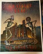 Grateful Dead 1st Print Radio City Hall 10/22-31-80 Poster Never Rolled