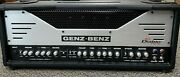 Genz Benz El Diablo 100 Watt Tube Head With Footswitch, Padded Cover, And Manual
