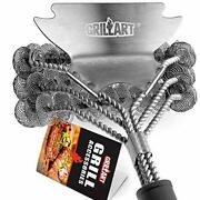 Grill Brush And Scraper Bristle Free Andndash Safe Bbq Brush For Grill Best Rated Andndash ...