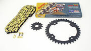 Cz 520-104l Gold Mx Series Chain And Sprocket 14/40 Fits 2012 Yamaha Raptor 350