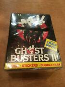 1989 Dead Stock Ghostbusters Card Set Comp Box Vintage Playing Cards From Japan