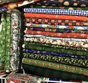 25 - 6 / 25- 8 And 25 10 Christmas Tree Skirt Mix Of Prints And Solids
