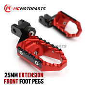 25mm Adjustable Trc Front Wide Footpegs For Yamaha Yzf 750 R / Sp 93-99 98