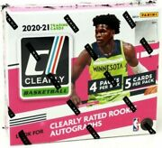 2020-21 Panini Clearly Donruss Basketball Factory Sealed 12 Hobby Box Case