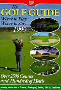 Golf Guide Farm Holiday Guides By Cuthbertson Anne E Acceptable Used Book P