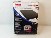 Rca Digital Flat Amplified Indoor Multi-directional Antenna Ant1450b