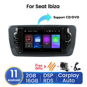 For Seat Ibiza 2009-2013 Dsp 7 Car Gps Dvd Player Stereo Radio Android 11 2+16g