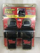 Rod Saver Retractable Transom Tie-down 40andrdquo Pair Boat Saver New