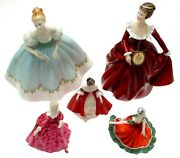 Reduced Lady Figurine Royal Doulton Over 40 Figurines Choose One
