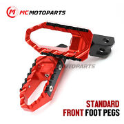 Anti-slip Trc Front Wide Footpegs For Yamaha Yzf 750 R / Sp 93-99 98 97 96 95 94