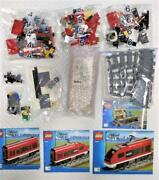 Lego City Passenger Train 7938 With Remote Control Working Mint