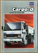 Iveco Ford Cargo Q Commercial Sales Brochure 1991 Bri/91 24 Tonne Six Wheelers