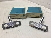 Nos 1963-67 Corvette Soft Top Rear Bow Guide Pins Landr Pair Gm3822946 And 3822945