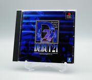 [ Ps1 ] Debut 21 - Idol Management + Dating - Sony Playstation Japan