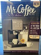 Mr. Coffee One-touch Coffeehouse Espresso And Cappuccino Machine, Dark Stainless