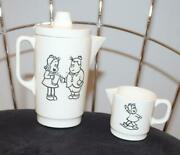 Little Lulu And Henry Pitcher And Creamer