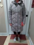 The Womenand039s Miss Metro Parka Size Medium Color Light Gray Brand New.