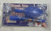 Kellogg's Cereal Tony The Tiger Sip N Spoon Straw Frosted Flakes Factory Sealed