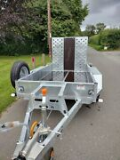 Bateson 26md Plant / Digger Trailer 2600kg Gross Weight 8ft X 4ft .andpound2820 Inc